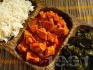 Рецепта Индийско агнешко задушено с къри сос